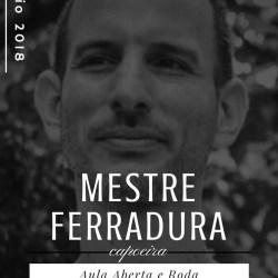 Mestre Ferradura em Portugal – Aula Aberta e Roda de Capoeira Capoeira 1