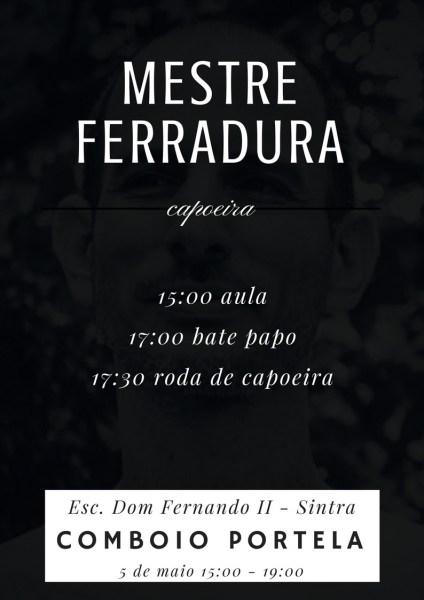 Mestre Ferradura em Portugal - Aula Aberta e Roda de Capoeira Capoeira Portal Capoeira 4