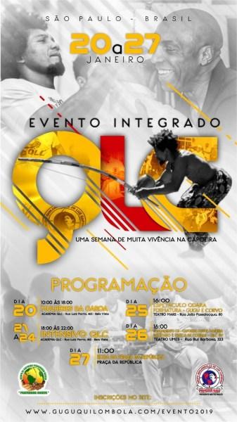 SP: Evento Integrado e Formatura Gugu Quilombola Eventos - Agenda Portal Capoeira 1
