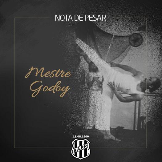 Nota de Falecimento: Mestre Godoy Capoeira Portal Capoeira