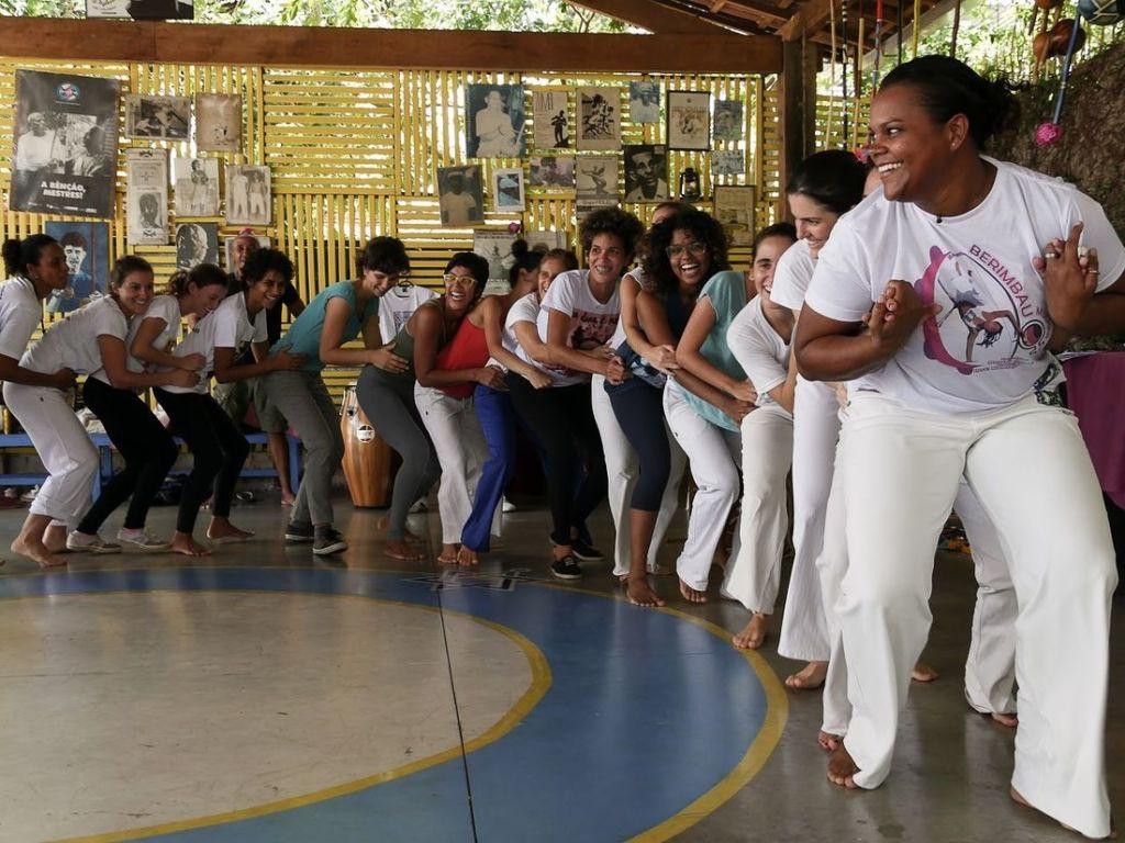 12º Encontro Feminino de Capoeira - Virtual Capoeira Portal Capoeira