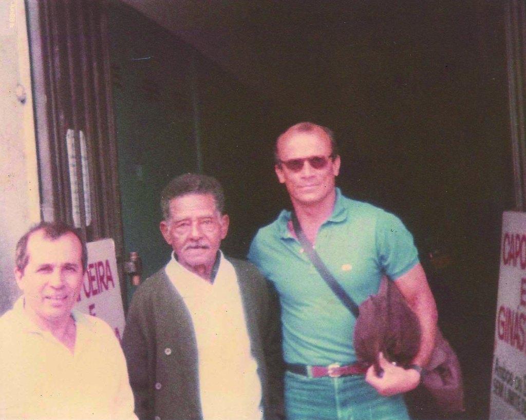 """Mestre Tabosa e o """"Ás de Ouro 88"""" Curiosidades Portal Capoeira"""