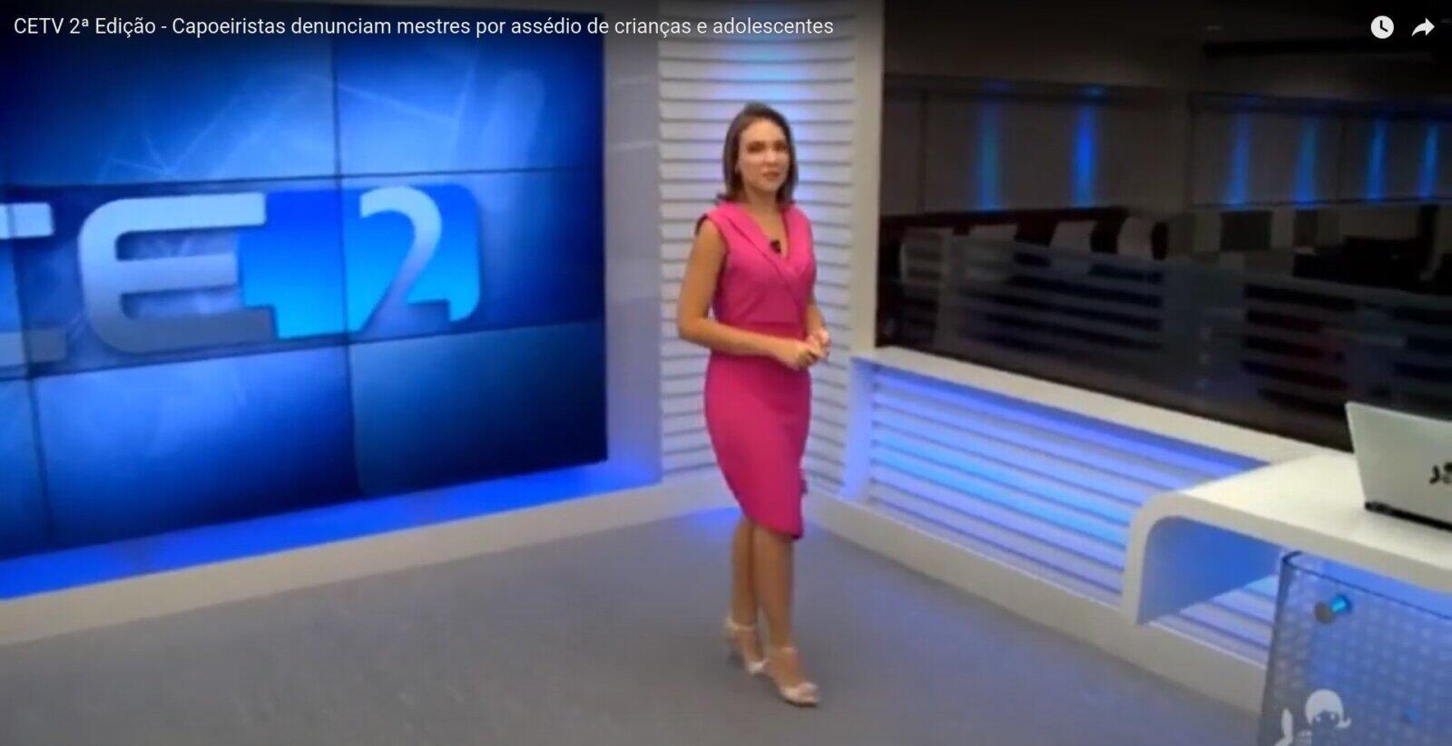TV Globo – CETV: Capoeiristas denunciam mestres por assédio de crianças e adolescentes