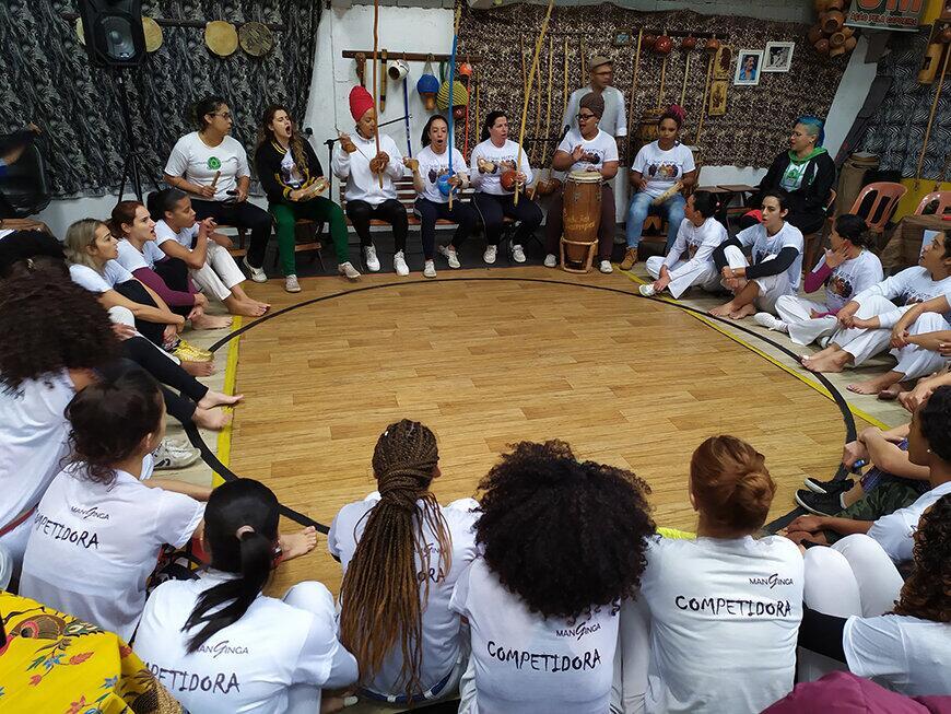 A mulher e sua relação com a Arte da Capoeira