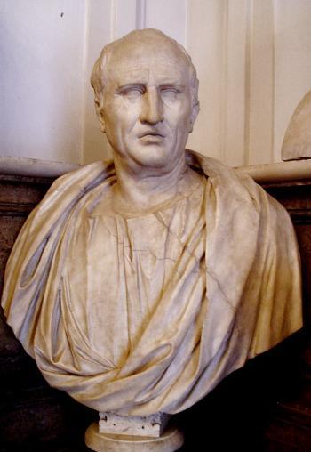 Busto de Marco Tulio Cicerón