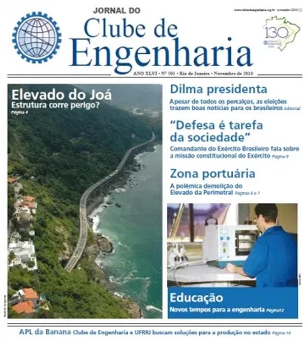 Jornal número 501 - Novembro de 2010
