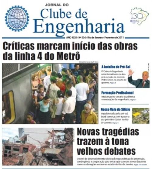 Jornal número 504 - Fevereiro de 2011