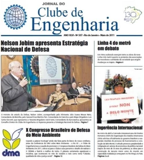 Jornal número 507 - Maio de 2011