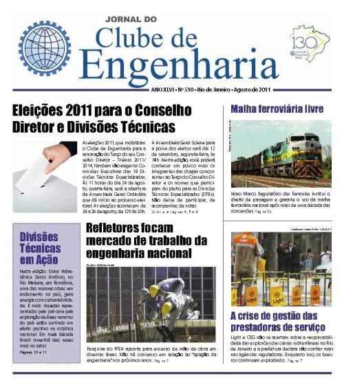 Jornal número 510 - Agosto de 2011