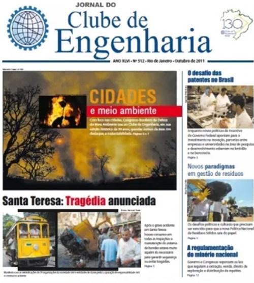 Jornal número 512 - Outubro de 2011