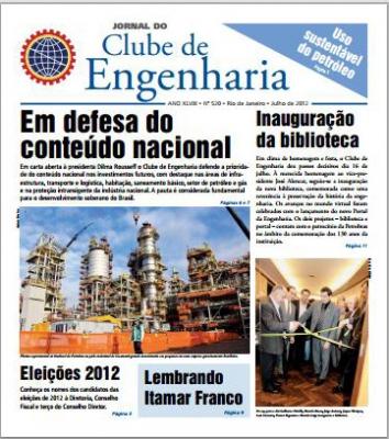 Jornal número 520 - Julho de 2012