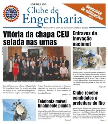 Jornal número 522 - Setembro de 2012