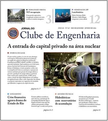 Jornal do Clube de Engenharia nº 567 - Junho de 2016