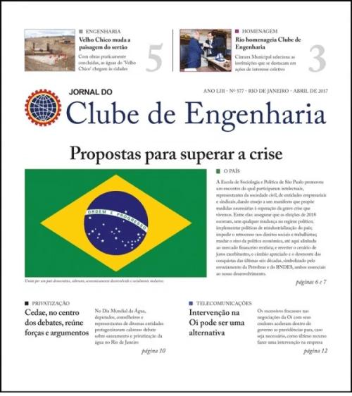 Jornal do Clube de Engenharia nº 577 - Abril de 2017