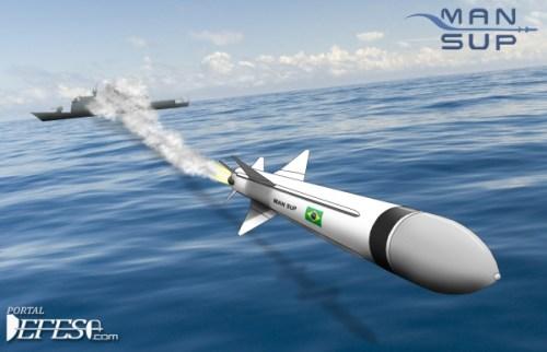 AVIBRAS inicia processo de qualificação do MANSUP (Míssil Antinavio de Superfície)
