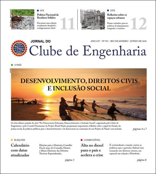 Jornal do Clube de Engenharia nº 591 - Junho de 2018