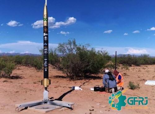 Grupo de foguetes da UERJ conquista 3º lugar em competição internacional