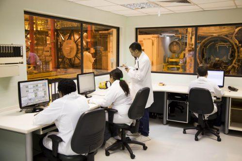 Indústrias Nucleares do Brasil (INB) inaugura cascata de urânio enriquecido