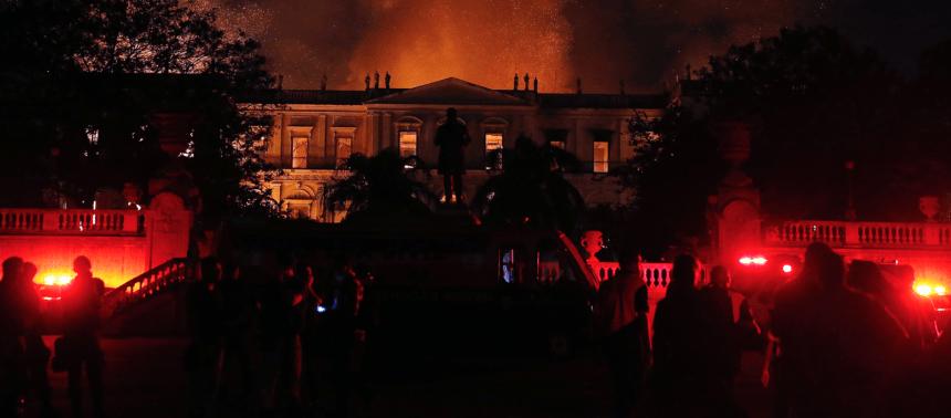 Nota do 49° Congresso Brasileiro de Geologia sobre o incêndio no Museu Nacional