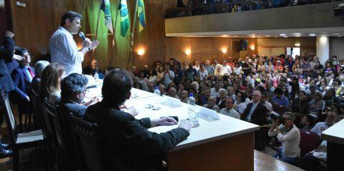 Em debate no Clube de Engenharia, Fernando Haddad defende retomada de políticas públicas