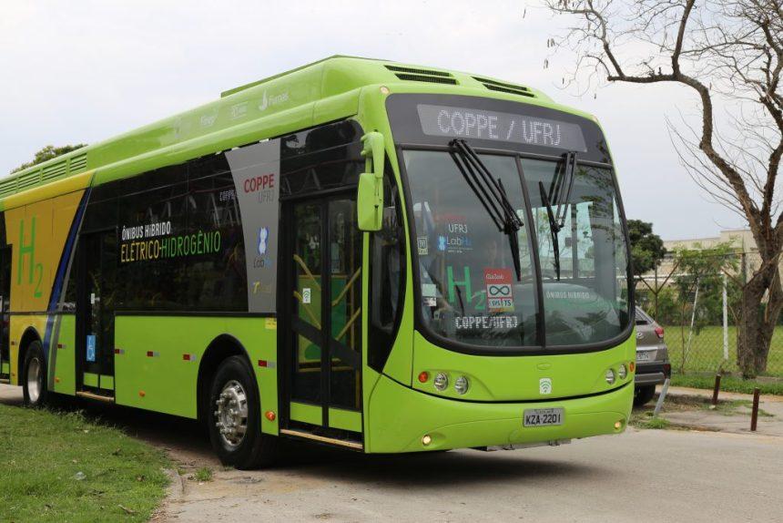 Clube Recomenda: Ônibus da UFRJ movido a hidrogênio