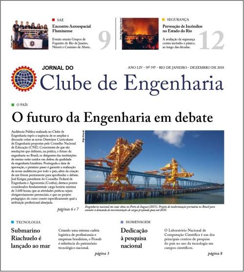 Jornal do Clube de Engenharia nº 597 – Dezembro de 2018