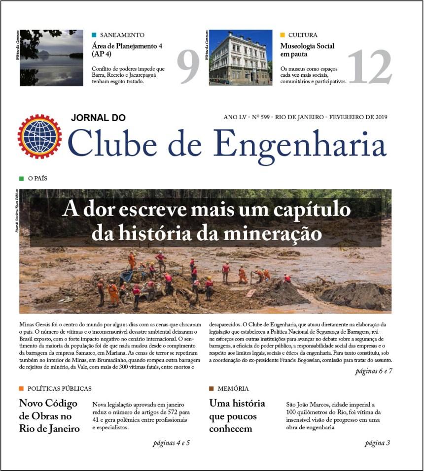 Jornal do Clube de Engenharia nº 599 – Fevereiro de 2019