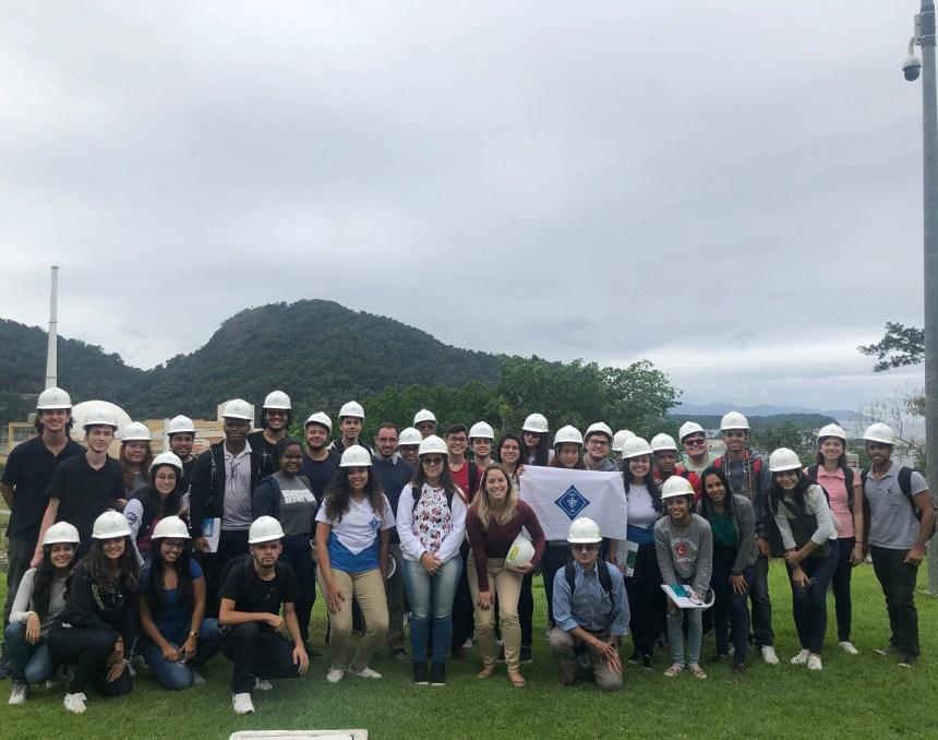 Estudantes de Niterói e da Baixada fazem visita técnica à Central Nuclear