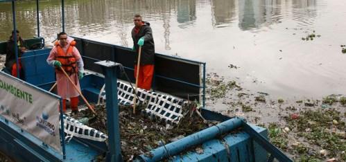 Alternativa de tratamento das águas em tempo seco dos córregos afluentes do Rio Pinheiros