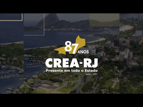 CREA-RJ comemora 87 anos