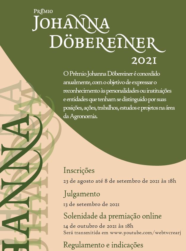 Solenidade do Prêmio Johanna Döbereiner