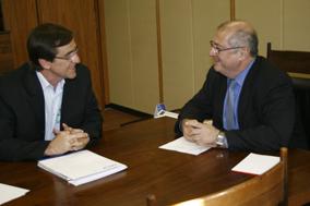Antônio Gomide visita o ministro Paulo Bernardo: celeridade na liberação de recursos e visita a Anápolis confirmada para 2010