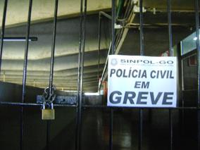 Greve da Polícia Civil reinvindica reposições salariais