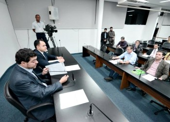 Reunião da CPI que investiga contrato Enel em Goiás
