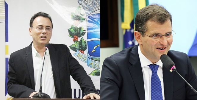 Geraldo Lino e Marcos Abrão Semfaz