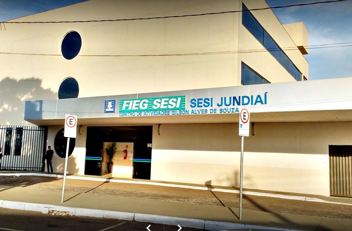 sesi jundiaí fachada portal contexto