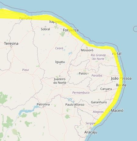 d0b75a52aa3c0a3c8d96bff5ad2b2b8c - Paraíba tem dois alertas de perigo potencial por chuvas para 61 cidades