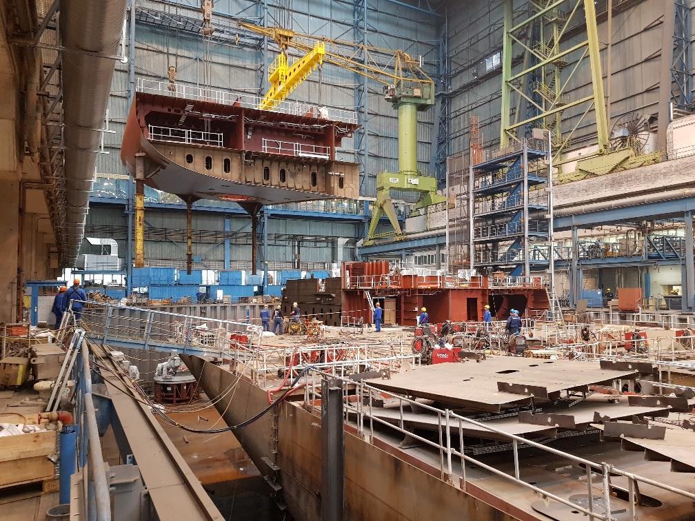 Galería: Así avanza la construcción del próximo crucero de Saga Cruises