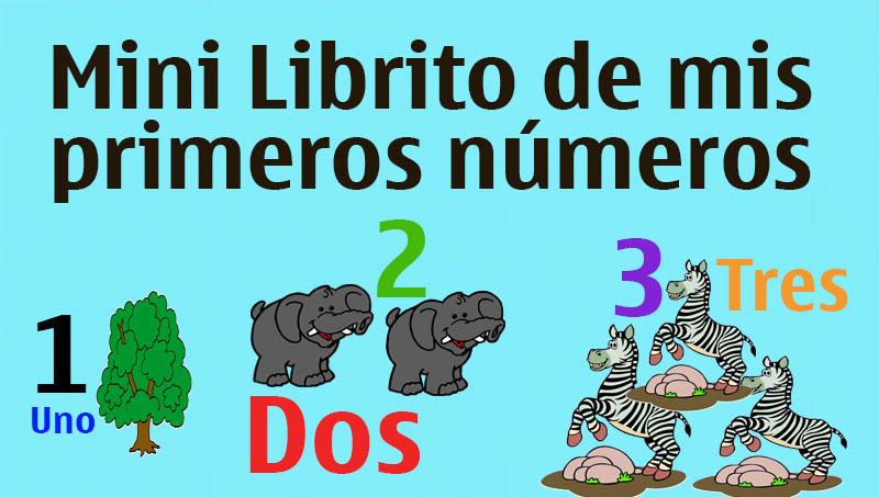 libros de numeros con animales