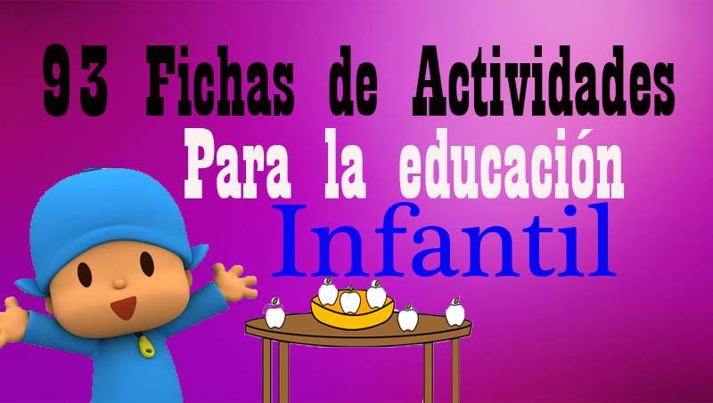 93 actividades de educación infantil