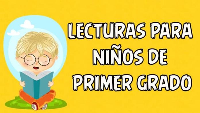 lecturas para niños de primer grado