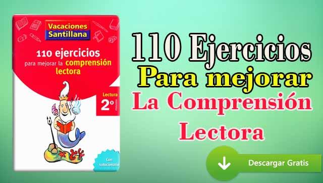 110 Ejercicios Para Mejorar La Comprensión Lectora 2 Primaria Pdf - Portal De Educación  @tataya.com.mx