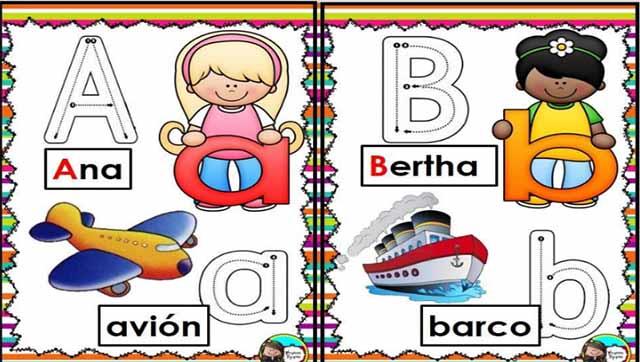 Abecedario Ilustrado Para Imprimir Portal De Educacion