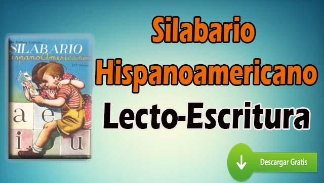 Silabario hispanoamericano (PDF) – Lecto-Escritura