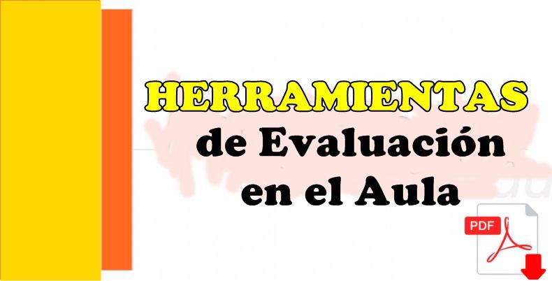 Herramientas de evaluación en el aula PDF