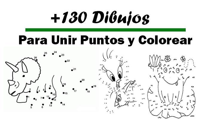 Descargar 130 Dibujos Para Unir Puntos y Colorear - Portal de Educación