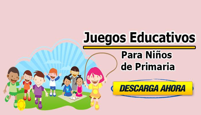 Juegos educativos para niños de Primaria