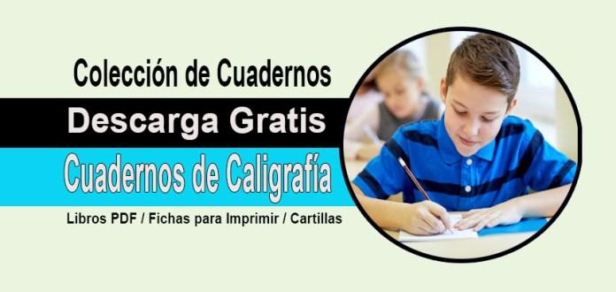 Colección De Cuadernos De Caligrafía Para Descargar ( Imprimir PDF ) - Portal De Educación  @tataya.com.mx