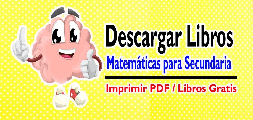 Libros De Matem 225 Ticas Para Secundaria Portal De Educaci 243 N