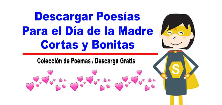 Poesías para el Día de la Madre cortas y bonitas